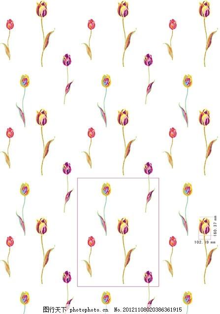 家纺 花 欧式花型 花样 窗帘画 韩式花型 设计 提花设计 印花 布艺