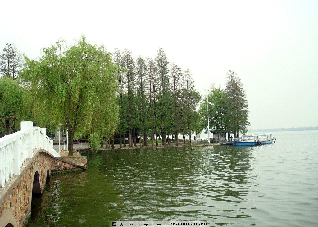 柳树 江水 石桥 江南水景 湖北风景 国内旅游 摄影