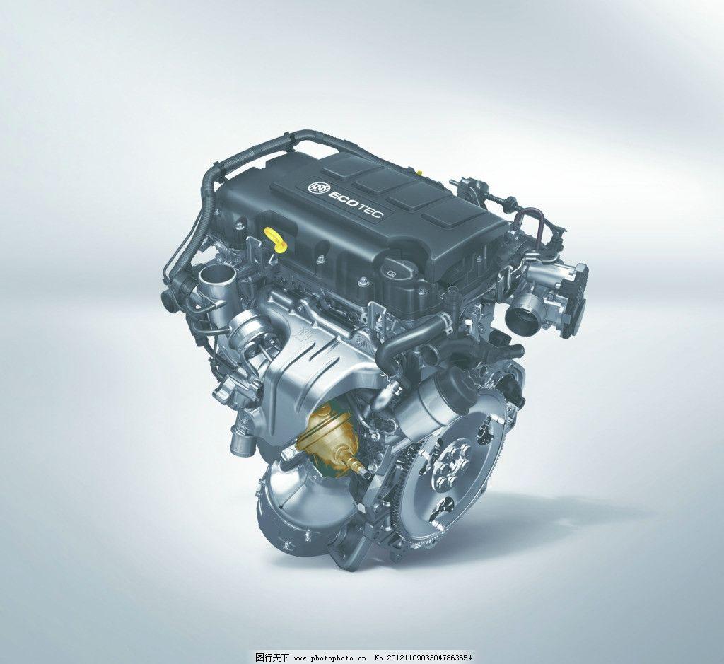 别克引擎 发动机 汽车发动机 汽车引擎 汽车零件 源文件
