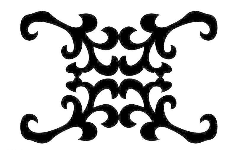 欧式花纹矢量图 底纹边框 花纹花边 镂空雕花 欧式花边矢量图 欧式
