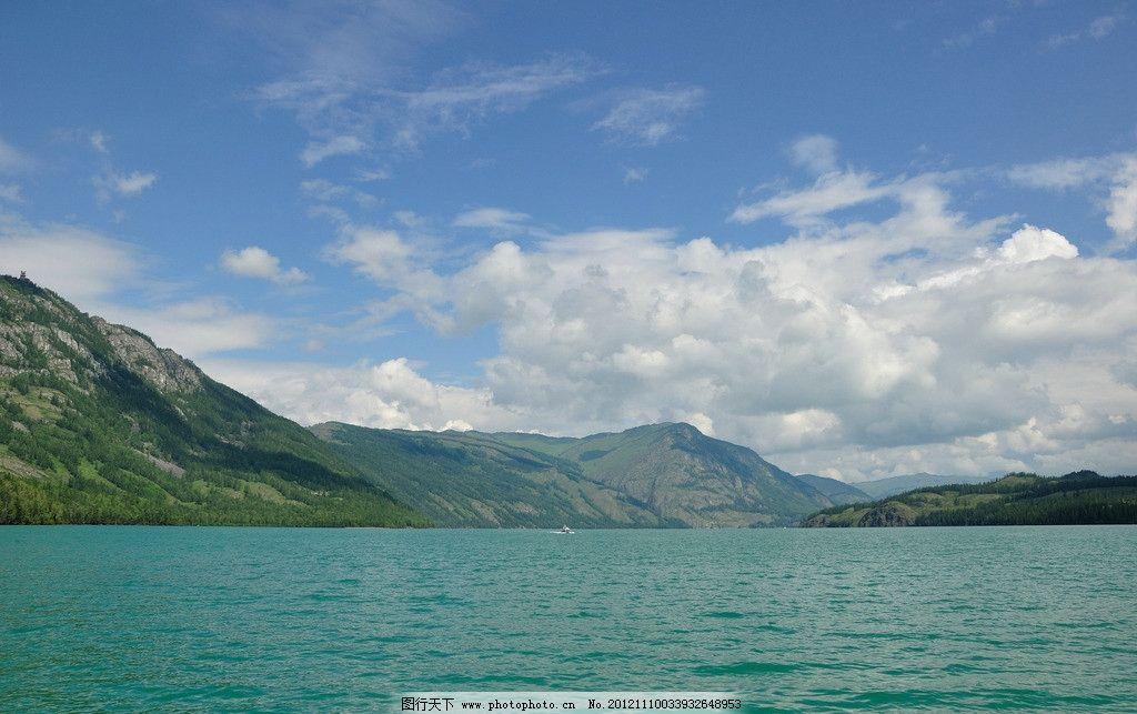 喀纳斯湖图片,新疆 水怪 桌面 国内旅游 旅游摄影-图