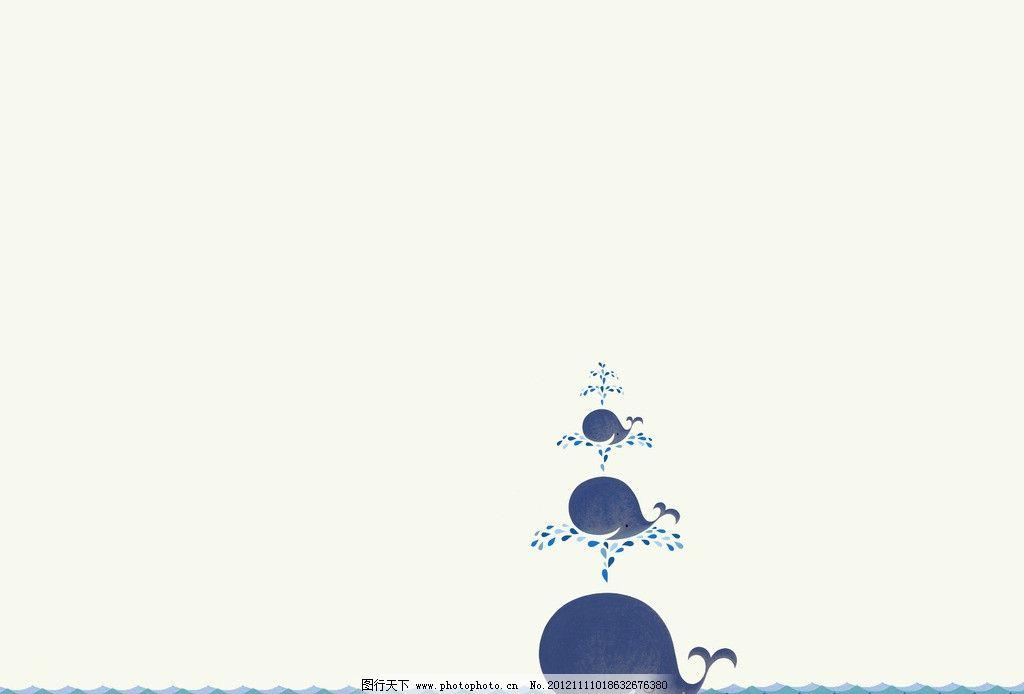 鲸鱼梦幻手绘宫崎骏
