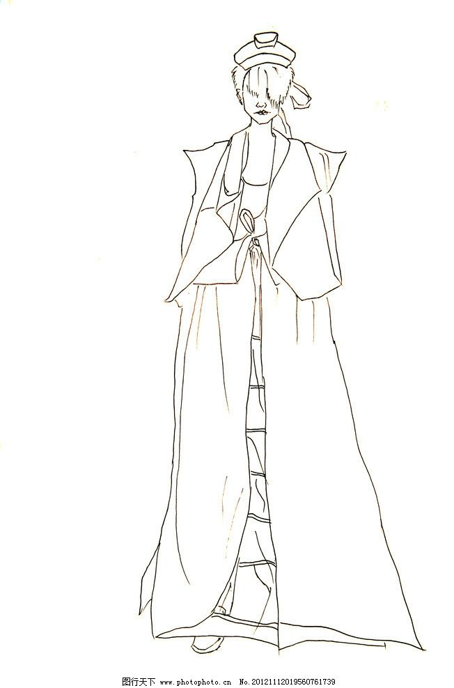 服装手绘图片