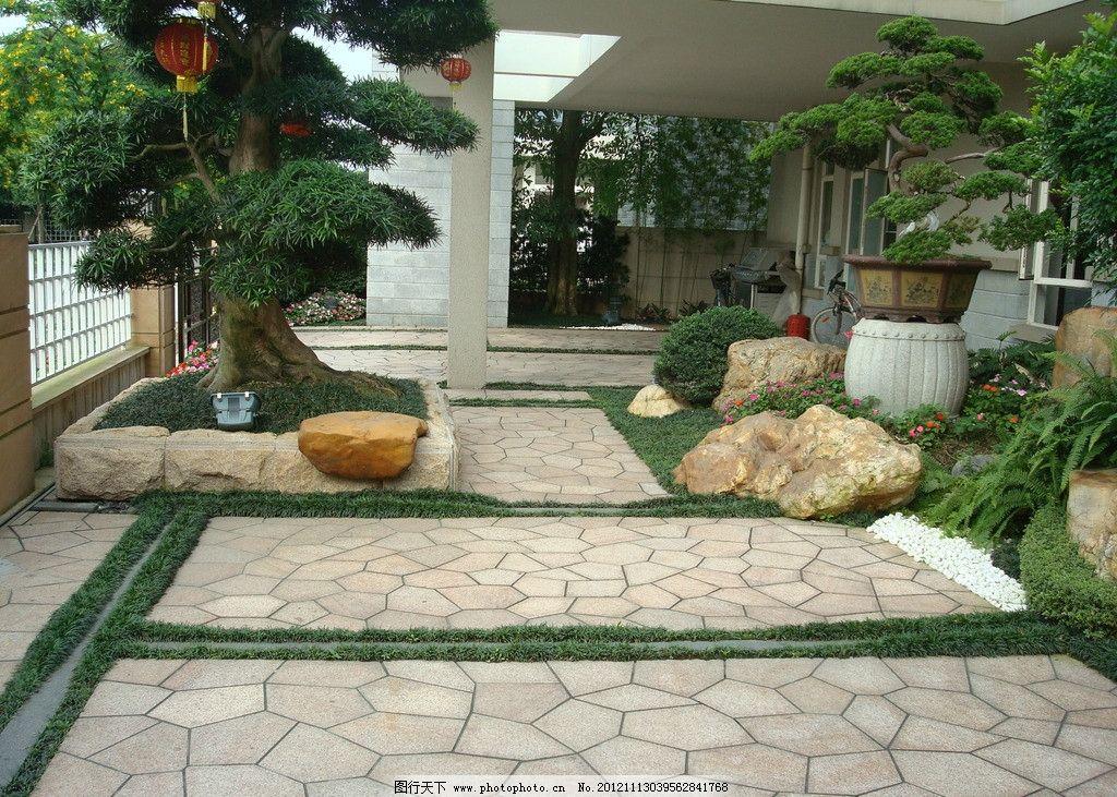 别墅园林 生态园林 园林小品 园林景观 园林绿化 造树 园林景石