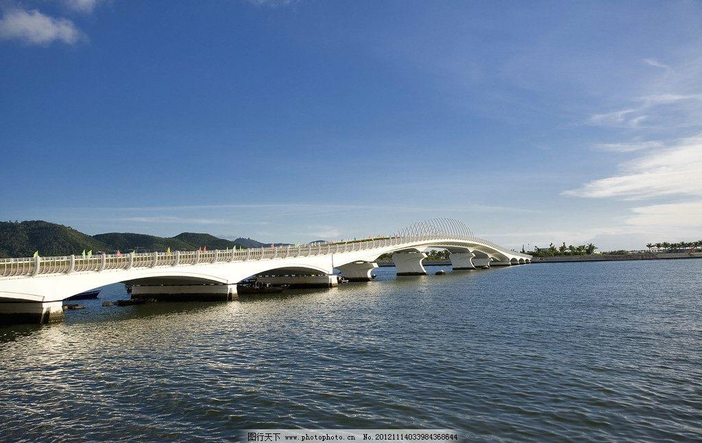 三亚桥 海南风景 海滩 大海 蓝天 白云 天空 阳光 晴天 旅游