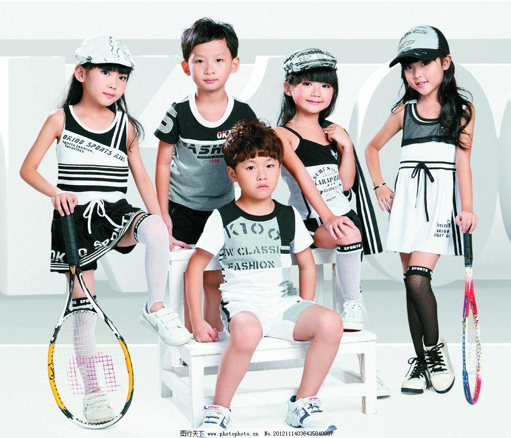童装 小孩 童年 可爱童年 女孩 男孩 小朋友 穿裙子 美女 小姑娘