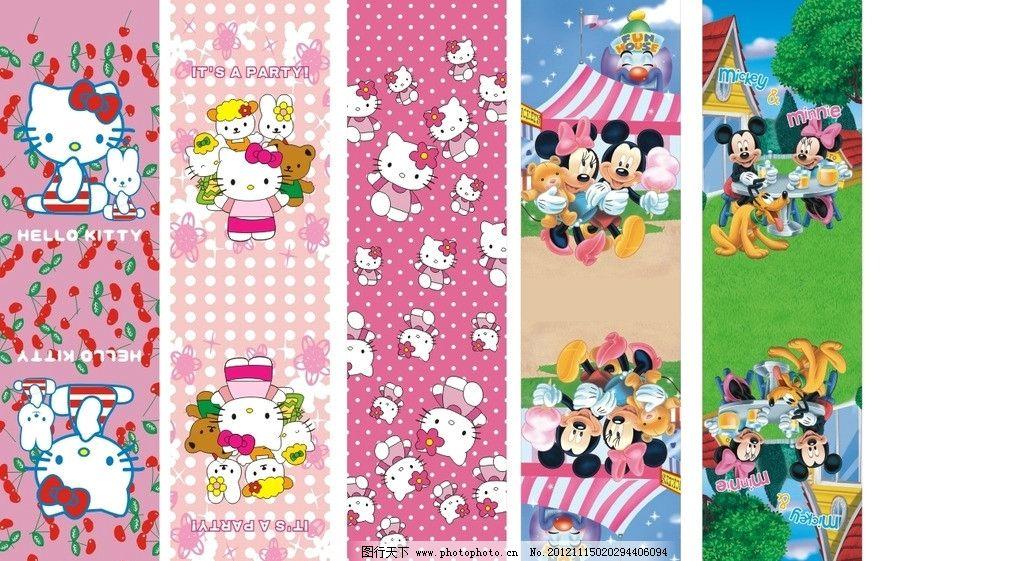kt猫 cdr 彩图 迪士尼 米奇老鼠 可爱卡通 其他人物 矢量人物