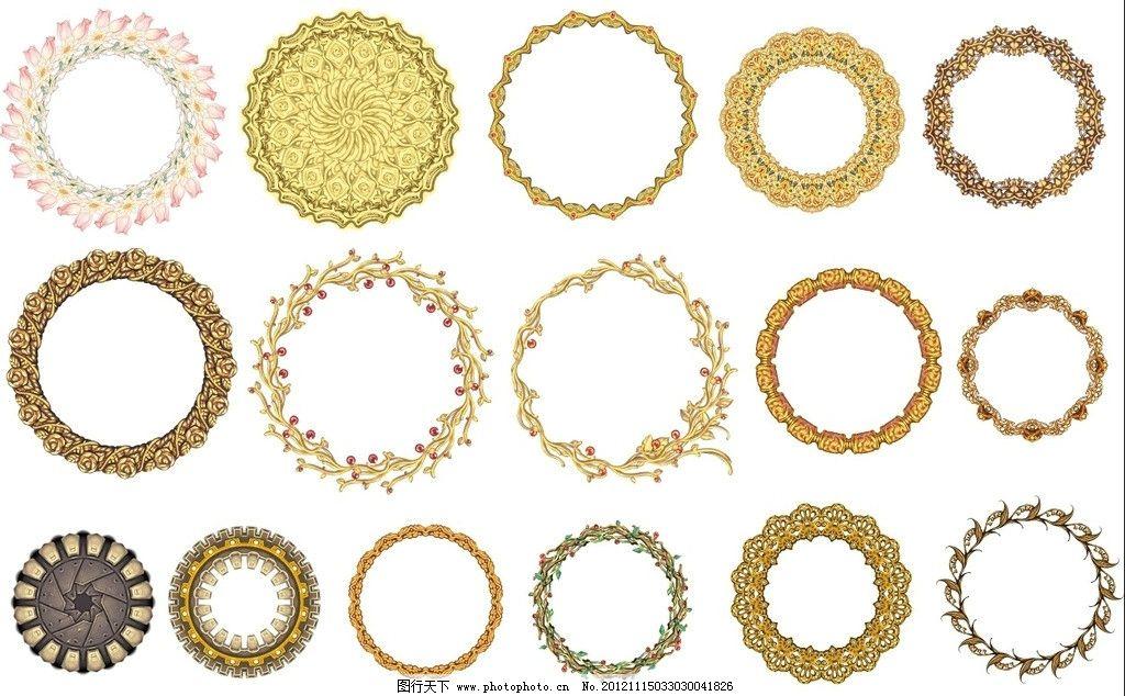 花边圆环图片图片