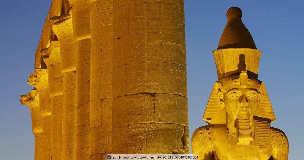 埃及金字塔景观图片