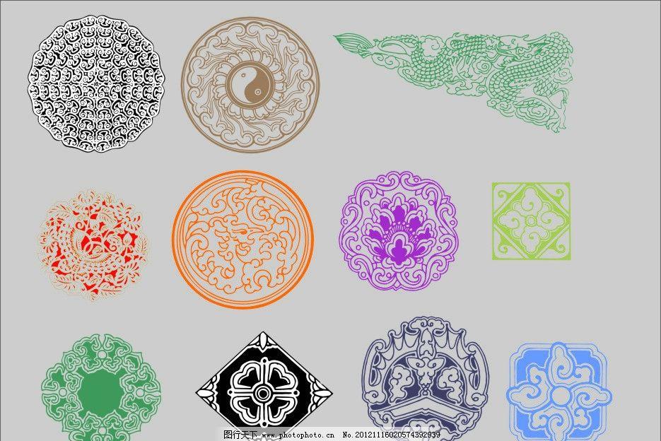 素材 模板 设计 矢量 新款 边框 花纹 花纹素材 线条 线条素材 异形