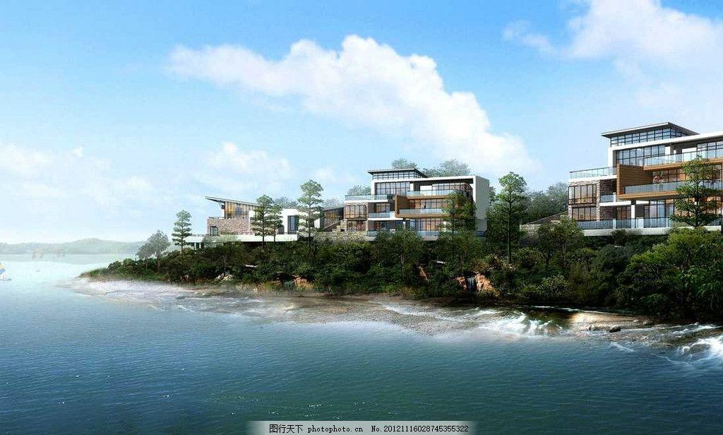 设计图 3d设计 渲染图 工程图 园林图 装饰图 分层素材 高清分层 别墅