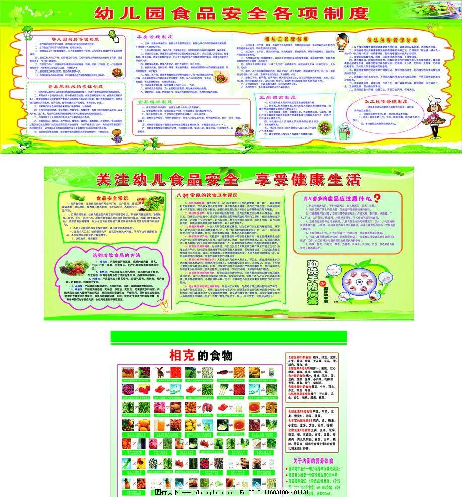 幼儿园食品安全常识图片