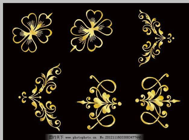 欧式花边 花边花纹 时尚花边 装饰花边 装饰花纹 装饰图案 门框图案