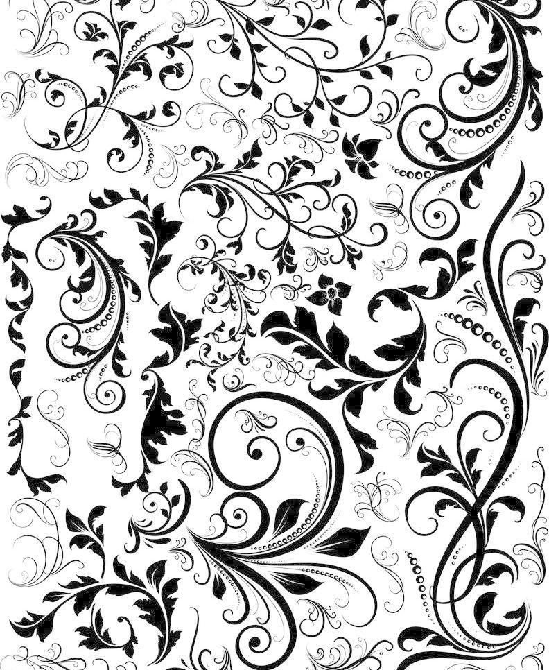 潮流 传统 底纹背景 底纹边框 对称 复古 欧式底纹矢量素材 欧式底纹图片