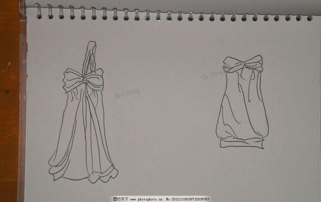 服装款式图 服装 款式 线条 美术绘画 文化艺术 摄影 350dpi jpg