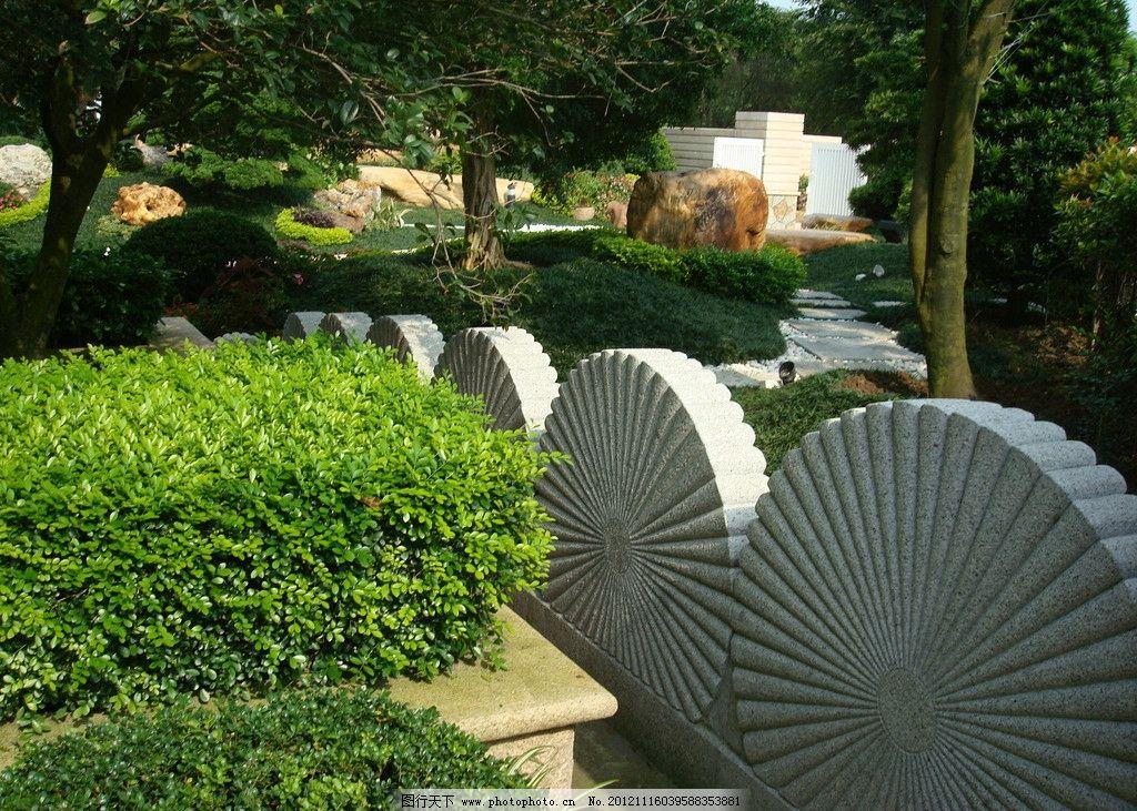 别墅园林 园林小品 园林景观 园林绿化 私家园林 庭院设计 园林景石