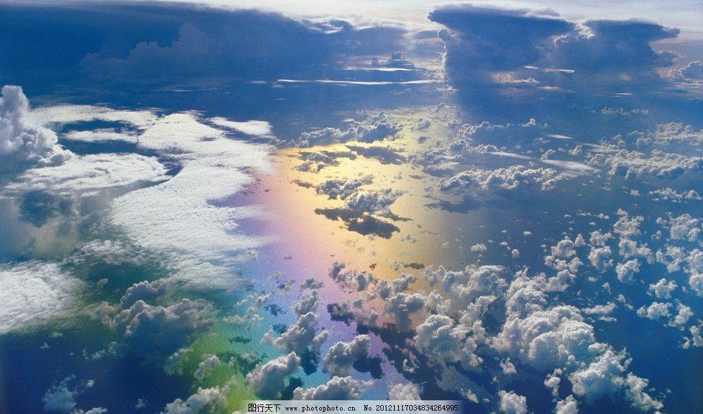 彩虹 大自然 rainbow 七色 自然风景 自然景观 摄影 96dpi jpg