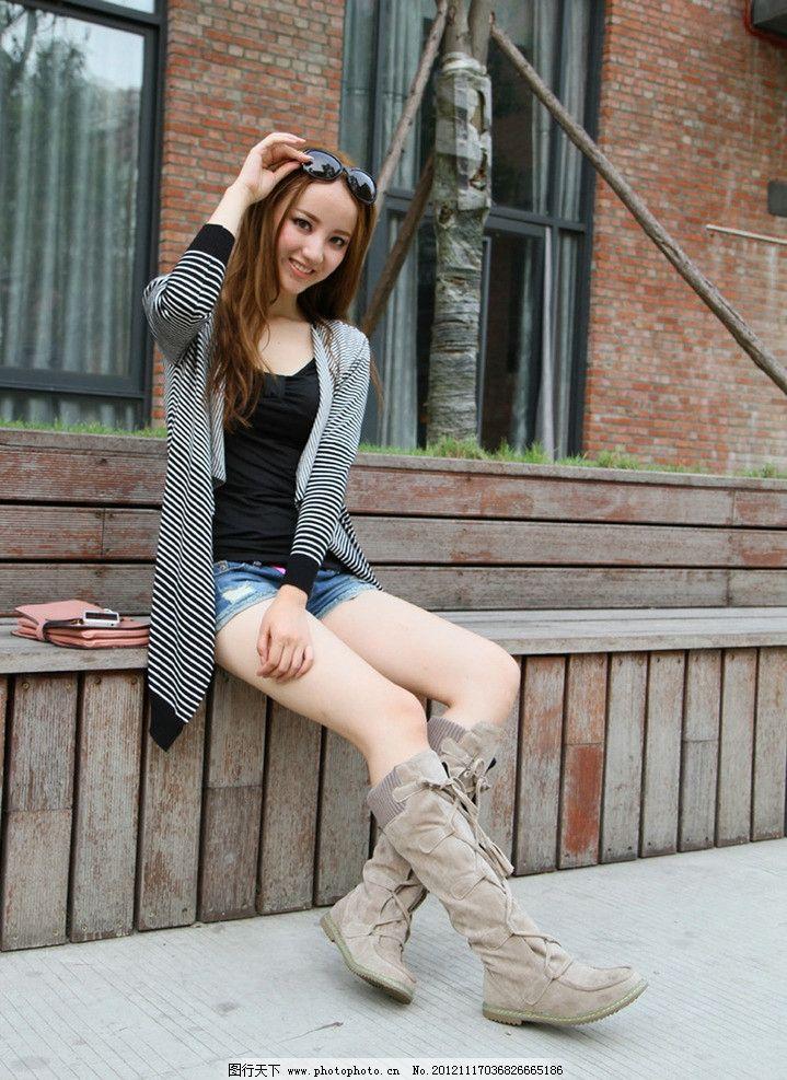 时尚 鞋 女鞋 衣服 服饰 服饰搭配 休闲 休闲生活 现代生活 气质美女
