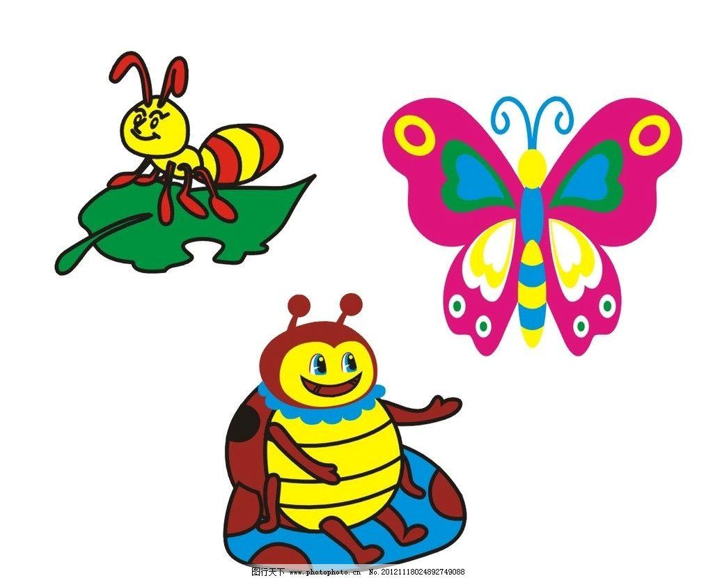 蜜蜂简笔画彩图