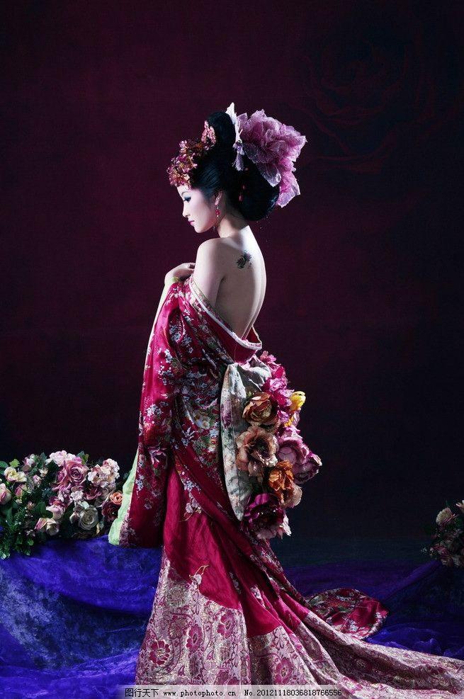 古装美女 古典美女 幻境 美女 女人 女性 唐装美女 古典风美女 嫁衣