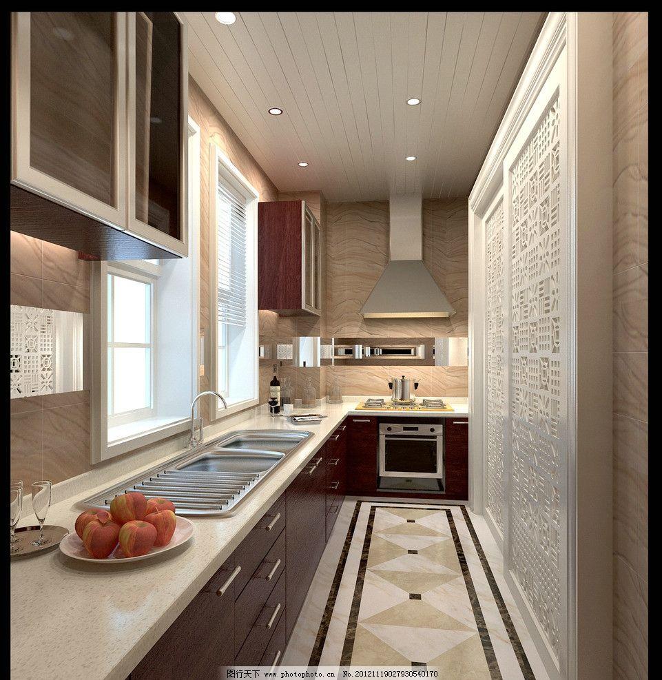 厨房 厨具 厨柜 洗菜池 油烟机 窗户 灶台 推拉门 抽屉