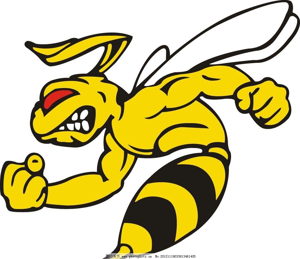 蜜蜂人物 虫 矢量 矢量素材 其他矢量