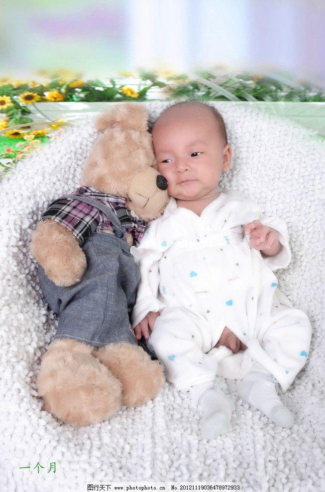 龙宝宝满月照 可爱宝宝