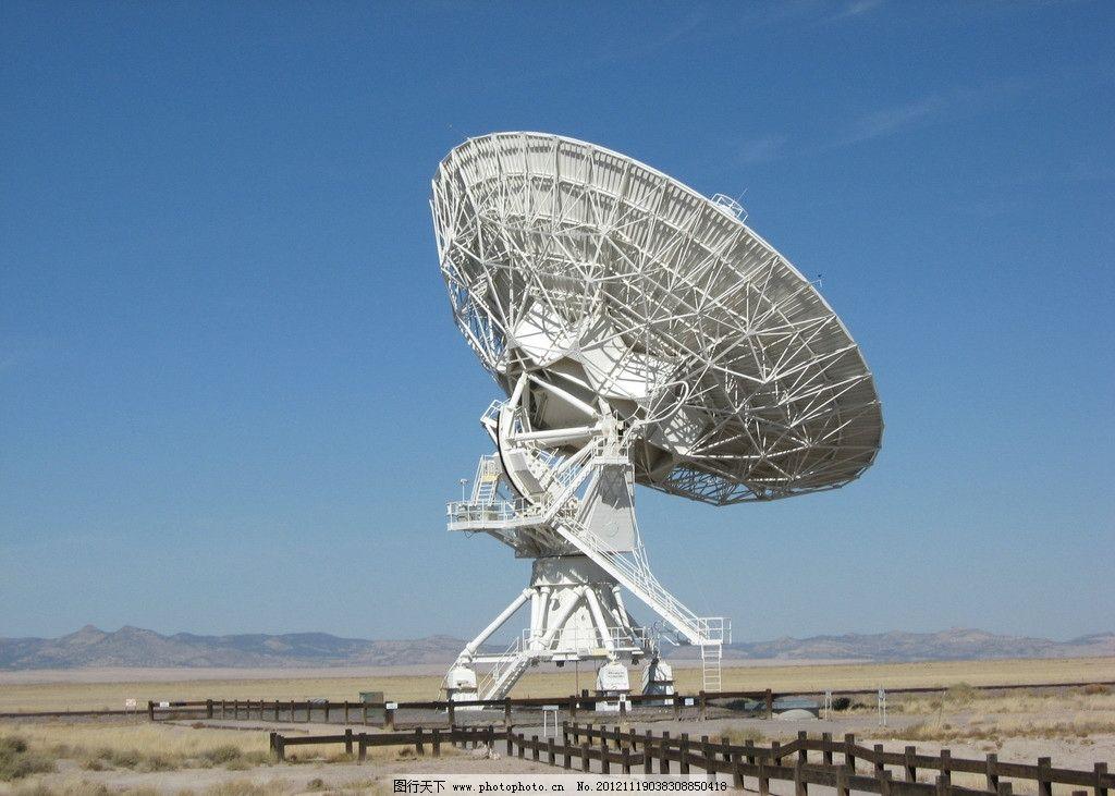 雷达 天线 卫星信号 观测 遥感 科学研究 现代科技 摄影 180dpi jpg