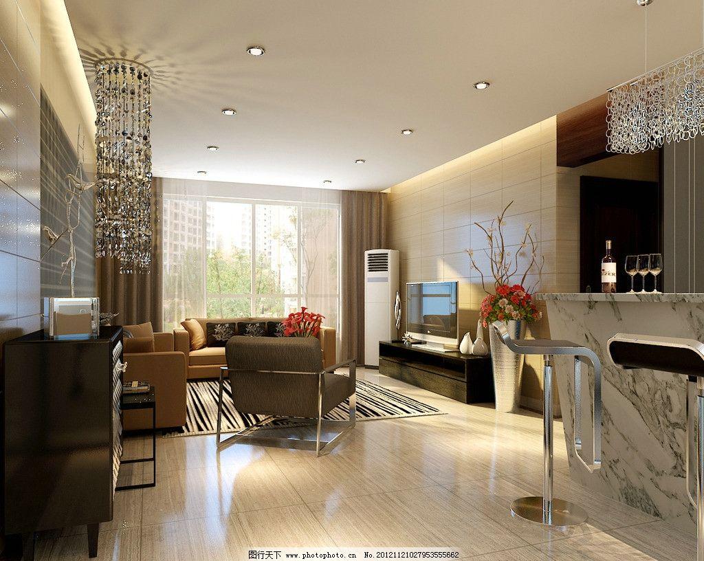 客厅 沙发 电视 电视柜 地毯 窗户 空调 吧台