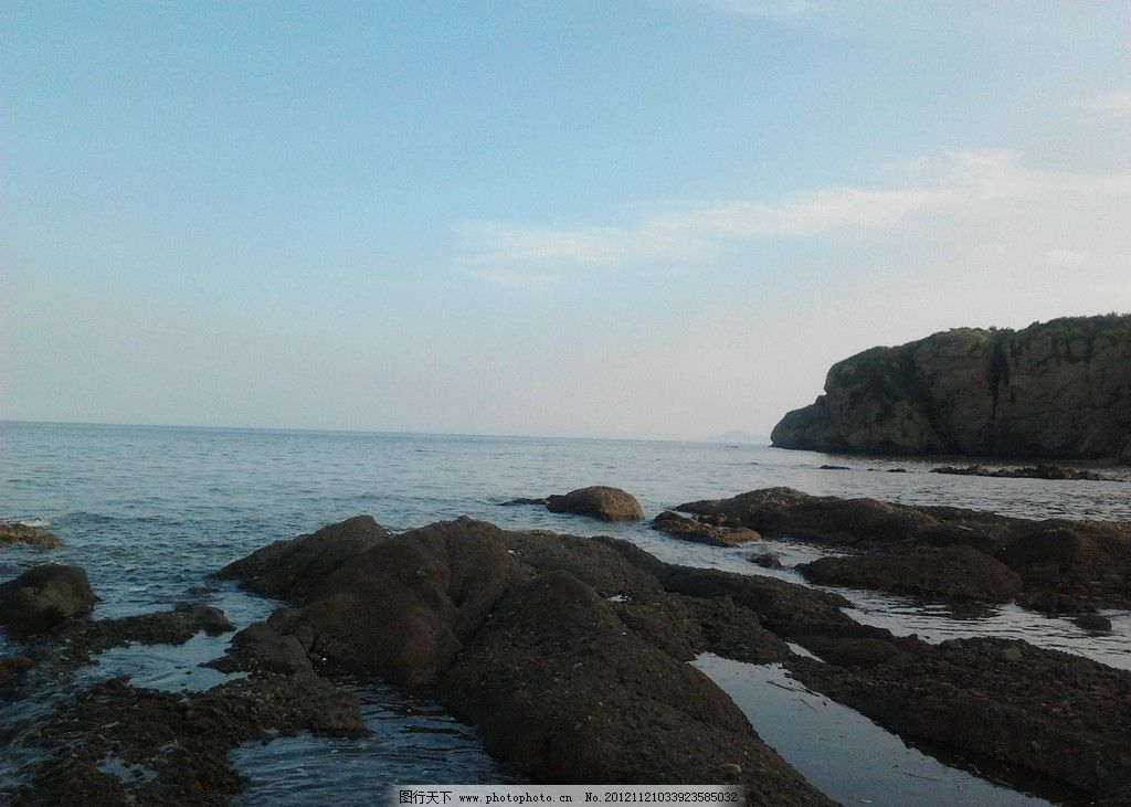 海边礁石 葫芦岛 大海 葫芦岛的海 国内旅游 摄影