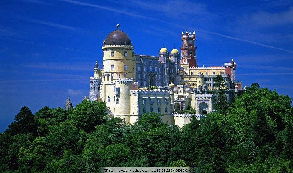 欧洲城堡风景图片