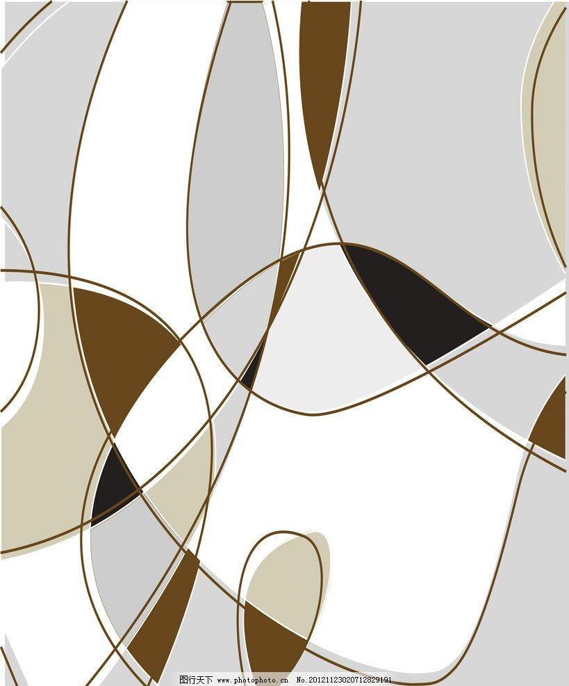 线条 几何 曲线 动感 装饰图案 移门 设计素材 移门图案 底纹边框
