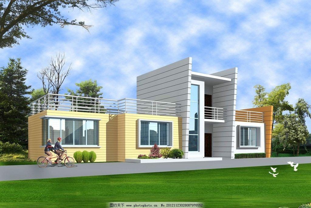 别墅      设计 建筑 3d