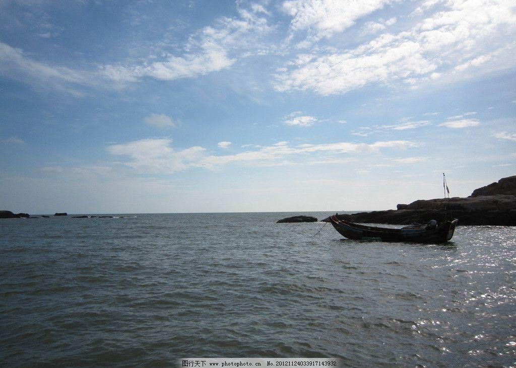东极岛风光 东极岛 海岛 大海 蓝天 白云 渔船 礁石 舟山 海岛风景 国
