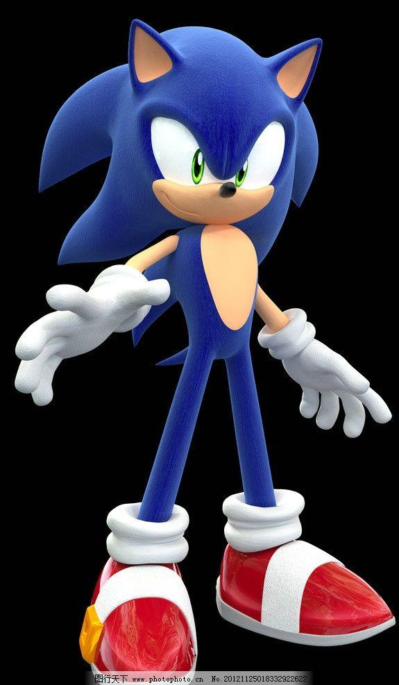 音速刺猬 蓝色 音速 动画 游戏 人物 动漫人物 动漫动画 设计 bmp