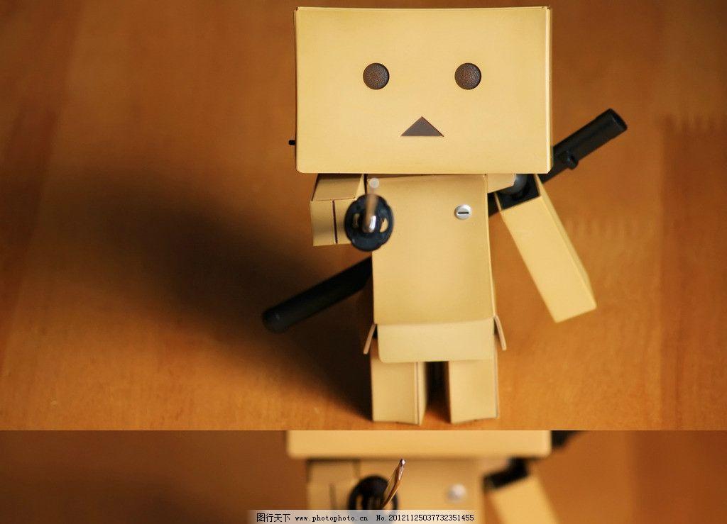 纸盒子小人_开始到处找纸箱子,收拾东西_手工小制作
