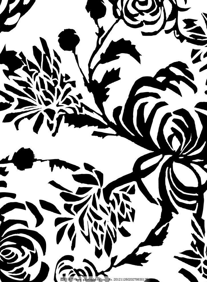 花纹 底纹 背景 印花 印花底纹 花布 欧式 欧美 欧式花纹 欧式底纹