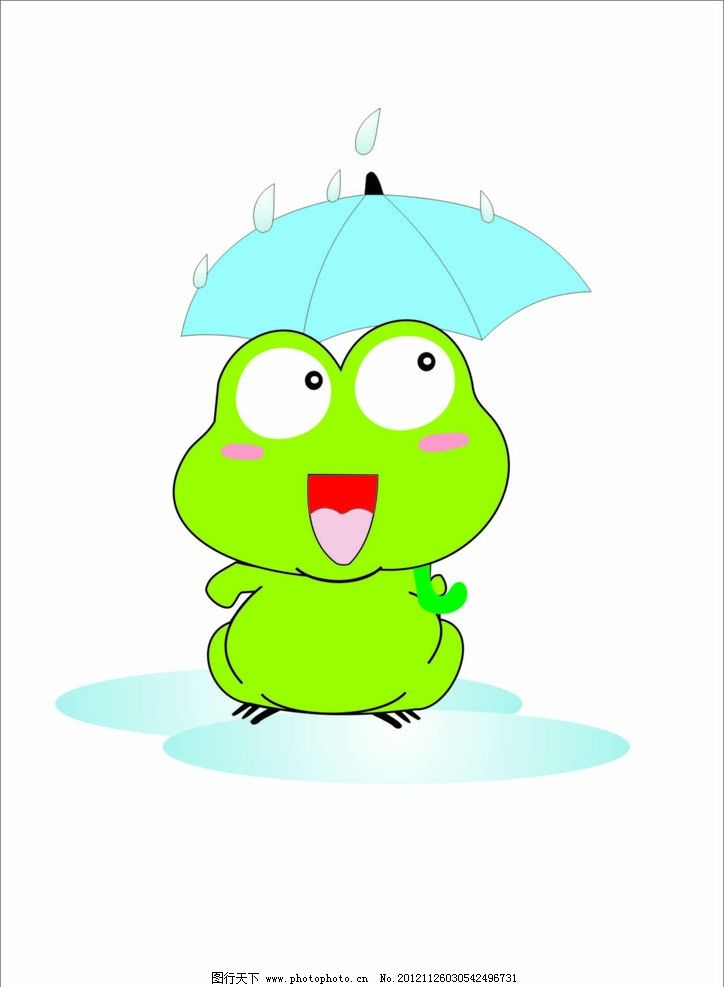 青蛙 矢量 矢量青蛙 小动物 动漫 卡通设计 广告设计 cdr