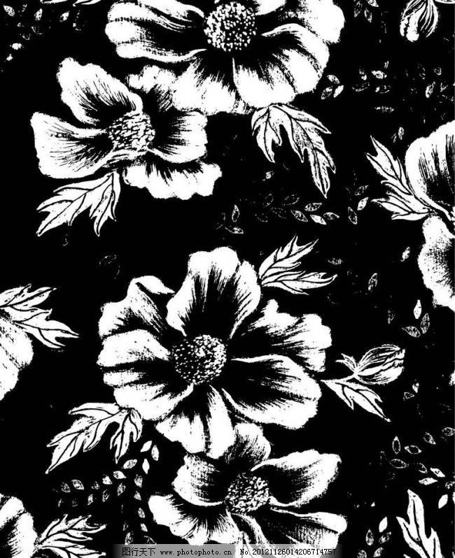 花纹 底纹 背景 印花 印花底纹 花 花布 欧式 欧美 欧式花纹 欧式底纹