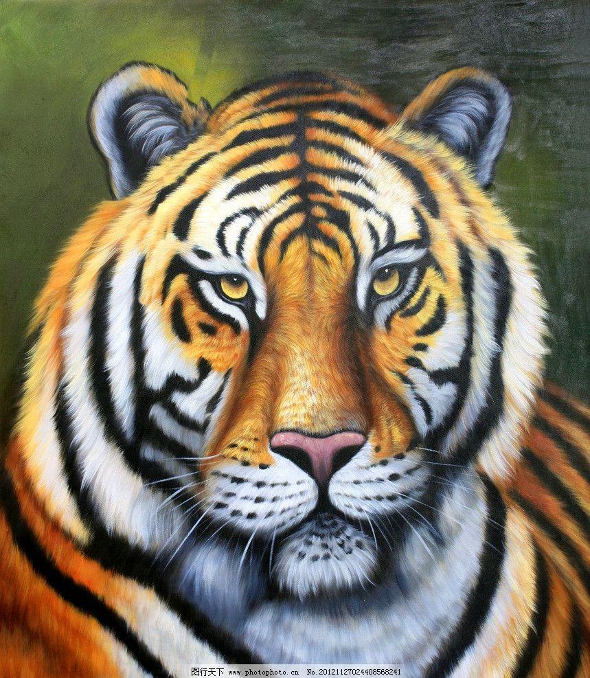 老虎头像 老虎 特写 虎 万兽之王 猫科动物 百兽之王 威严 王者 野生动物 动物园 动物世界 西伯利亚虎 亚洲虎 东北虎 孟加拉虎 森林之王 绘画 生物世界 设计 250DPI JPG