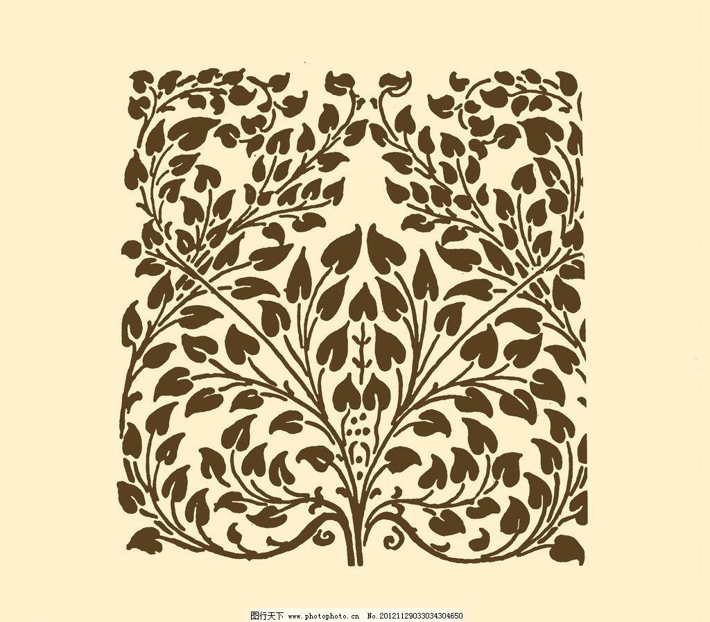 欧式花纹 边框 花纹 框线 底纹 纹样 花边 雕刻 卷草 背景 psd分层