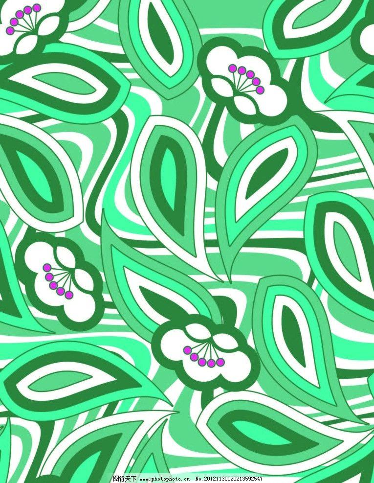 欧式绿色布料贴图