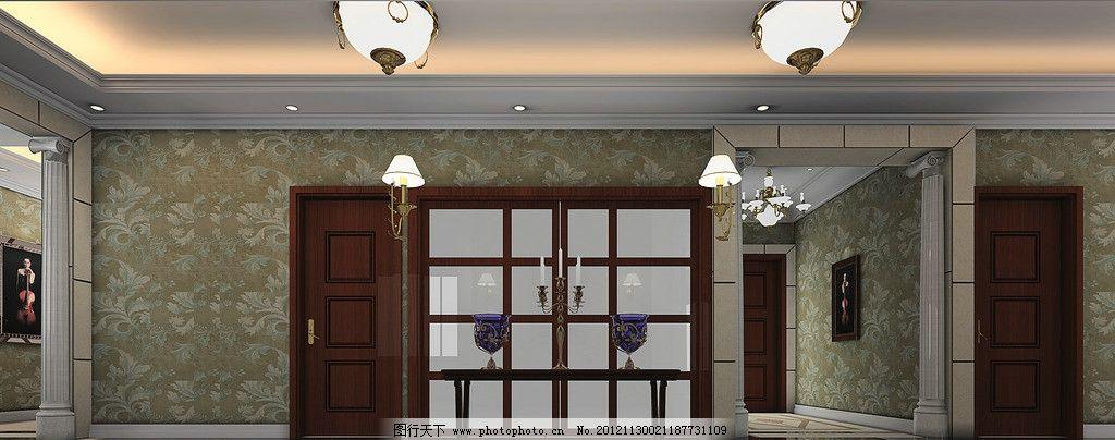 设计图库 3d设计 3d作品设计  欧式设计效果图 欧式 客厅 吊顶 沙发
