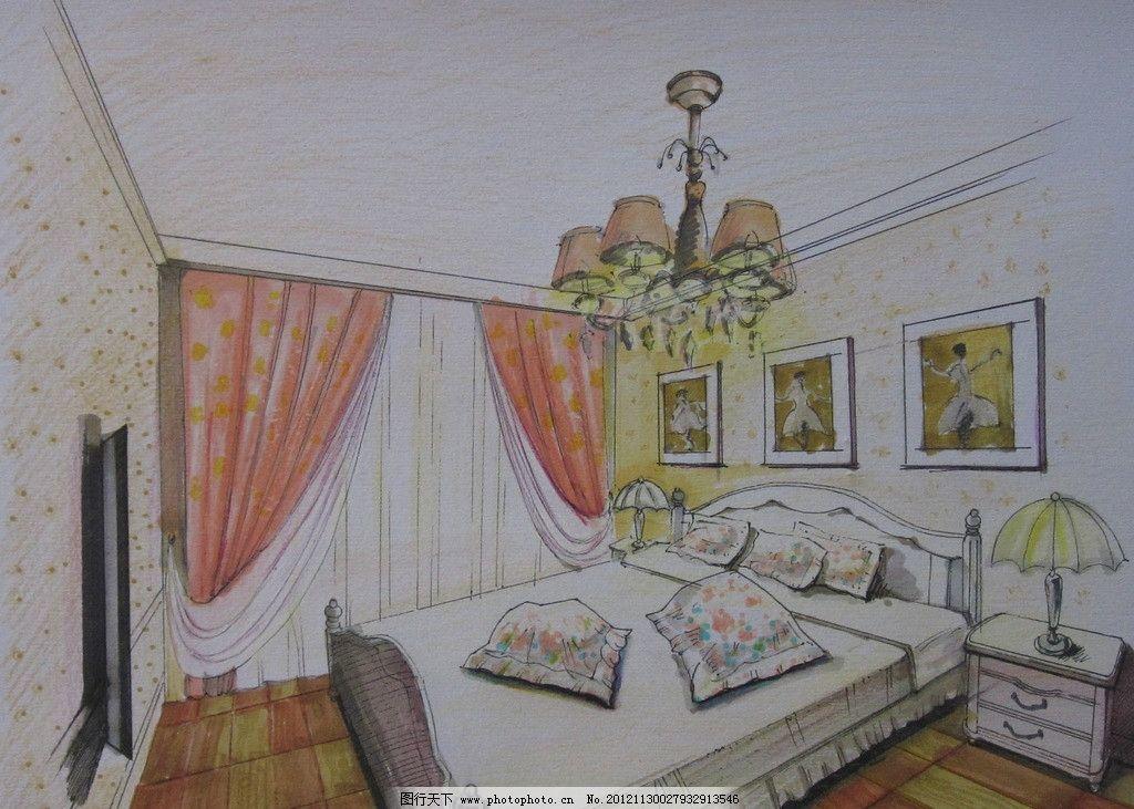 床的步骤怎么画