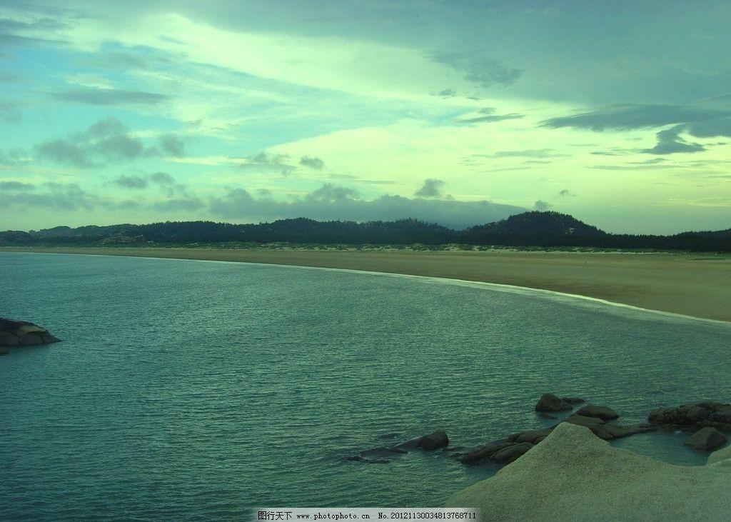 碧海蓝天 大海 海边 沙滩