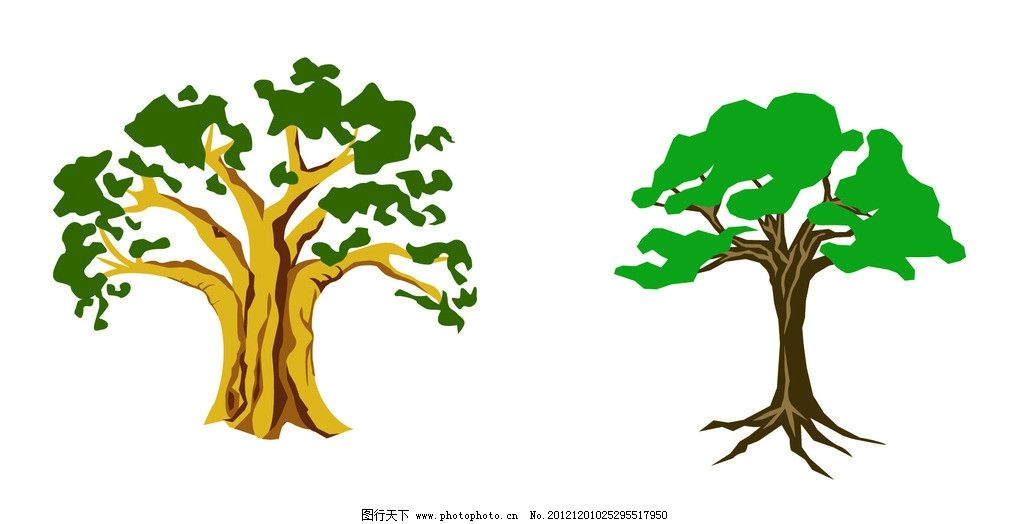 树木森林微信头像