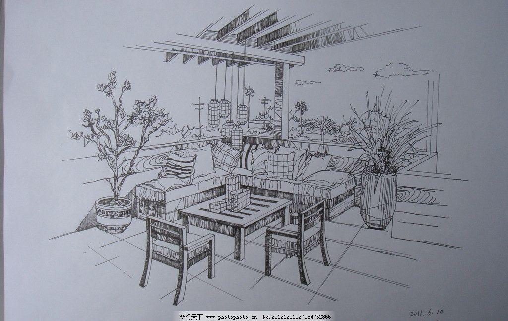 室内设计手绘效果图图片