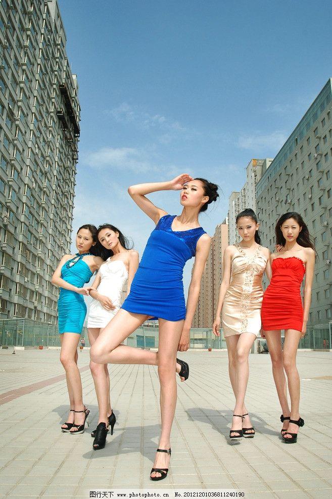 狄安娜模特 模特 风景 明星 五颜六色 美女 建筑 女性女人 人物图库