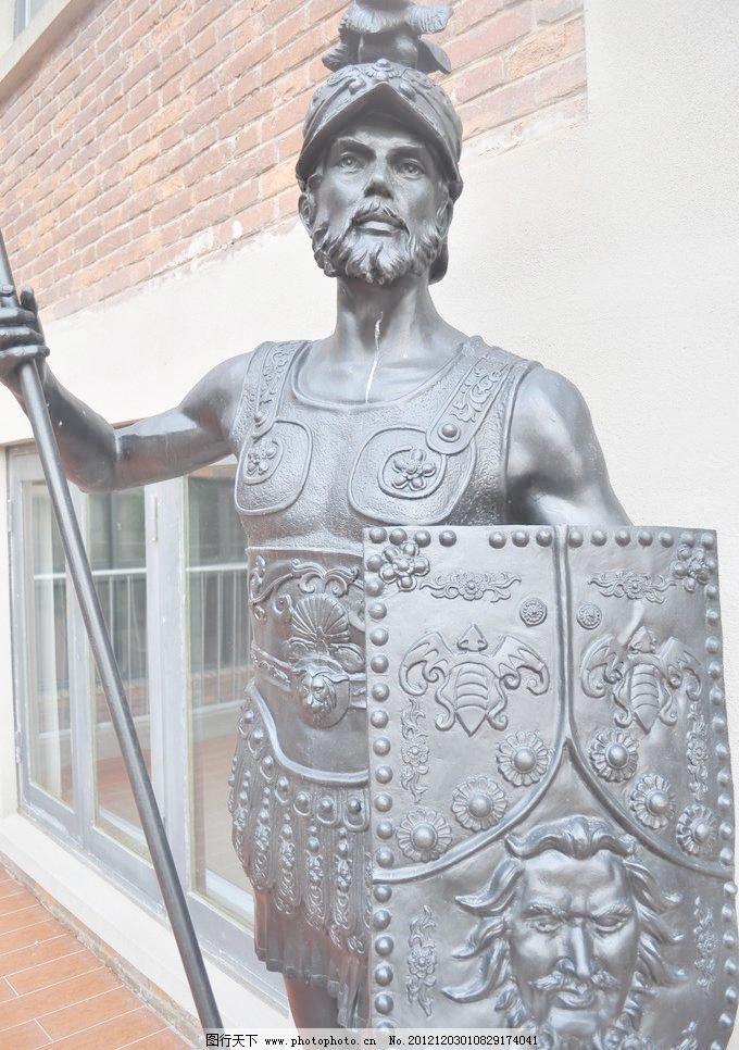 欧式雕塑形象图片