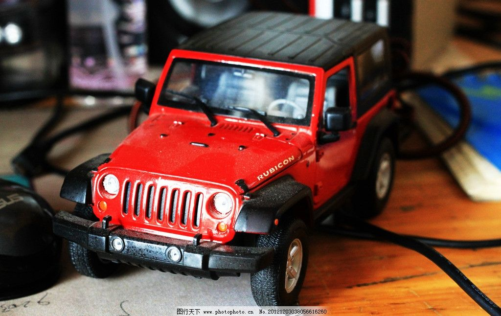 jeep牧马人车模图片